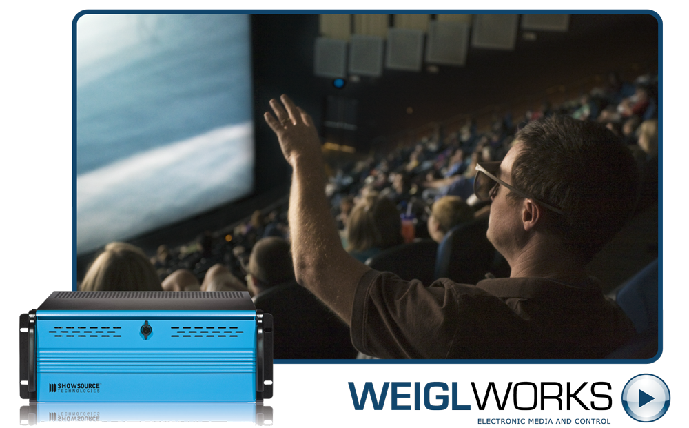 Powered By Weigl: 3D and IMAX Theaters