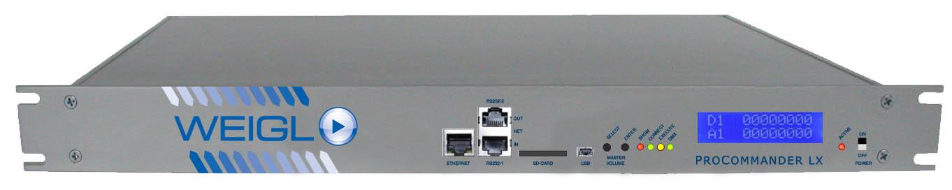 ProCommander LX Introduction | Weigl Control - Animatronics and
