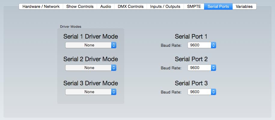 SerialWDriverMode
