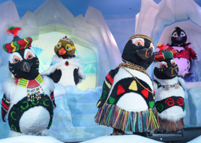 "Sally Corporation Creates ""Penguins on Parade,"" for Chimelong's Penguin Hotel"